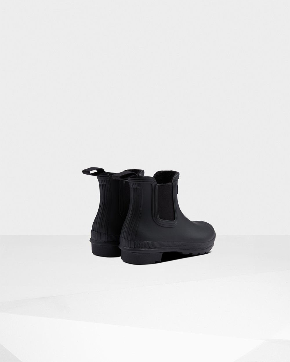 Womens Hunter Original Insulated - Chelsea Boots Black - 7452-WCSYT